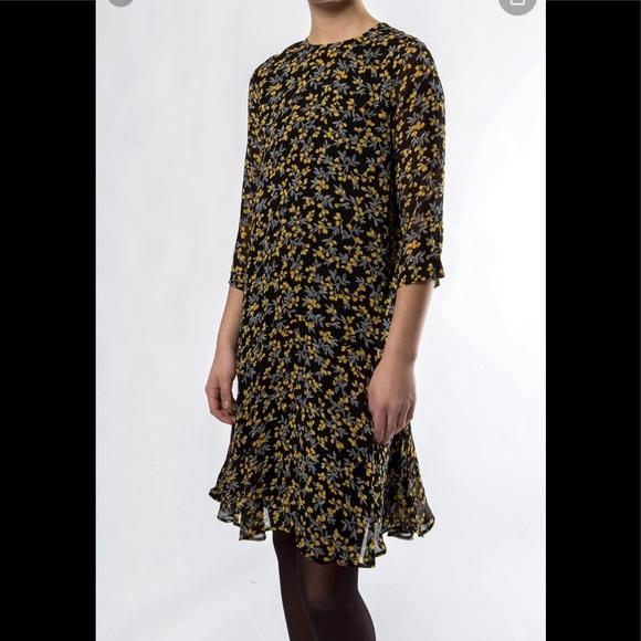 Ganni Dresses & Skirts - Ganni Marceau Georgette Dress 38 medium